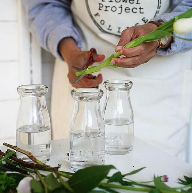 xử lý hoa để hoa tươi lâu